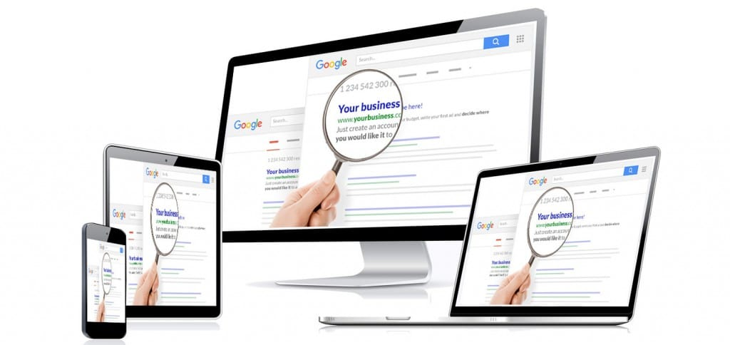 Local business google seo rankings